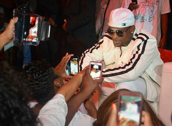 Women were loving on R Kelly Like he was LL Cool J. Or LL Cool R that is