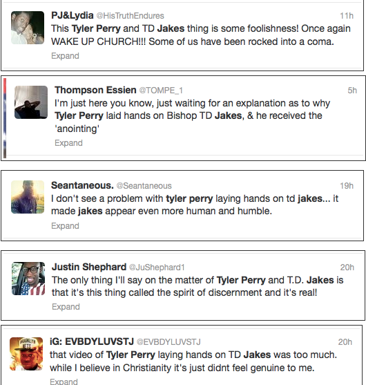 TYler Perry Twitter Reacts