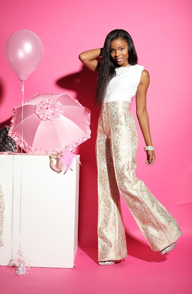 Ajiona Alexus styled by Amelia De Costa Makeup by Bbeautiful and Clothes designed by @NiccibyNicci