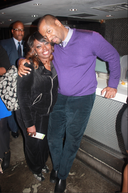 Angie Stone and Malcolm Lee - Producer/Director/Writer