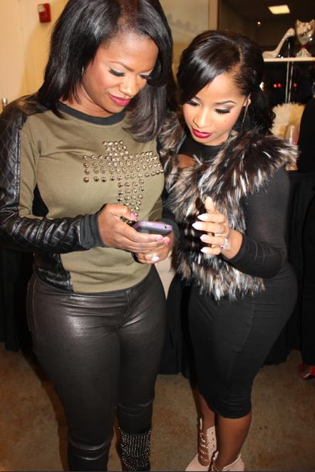 Kandi and Toya Wright