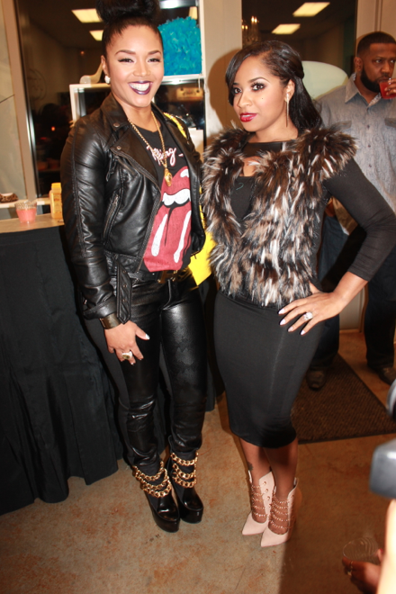 Rasheeda and Toya Wright