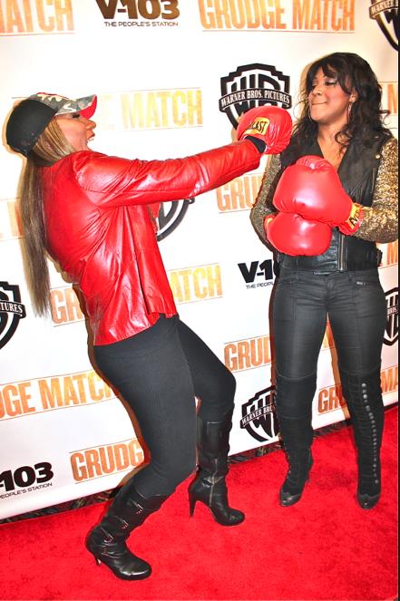 Towanda Braxton and Trina Braxton