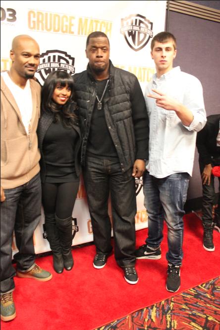 Big Tigger, Keisha Knight Pulliam, Kordell Stewart, and Zach Farlow