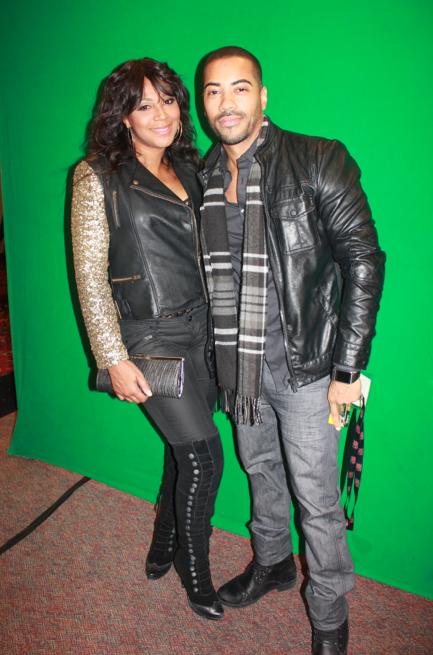 Brad James and Towanda Braxton